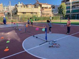 Μαθητές σχολείων του Πειραιά προπονήθηκαν από Ολυμπιονίκες σε αθλητική δράση του Ο.Π.Α.Ν. και της Εθνικής Ολυμπιακής Ακαδημίας